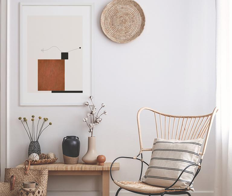 Take a look at our beautiful      Balance Poster     , perfect for Japandi interiors!