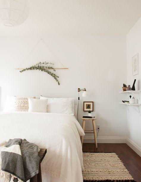 Japandi article. Image of Scandinavian styled bedroom.jpg