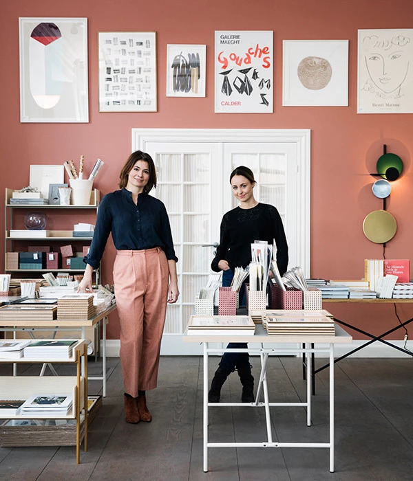 Interior Design Stores in Copenhagen article. Image of the people behind Stilleben