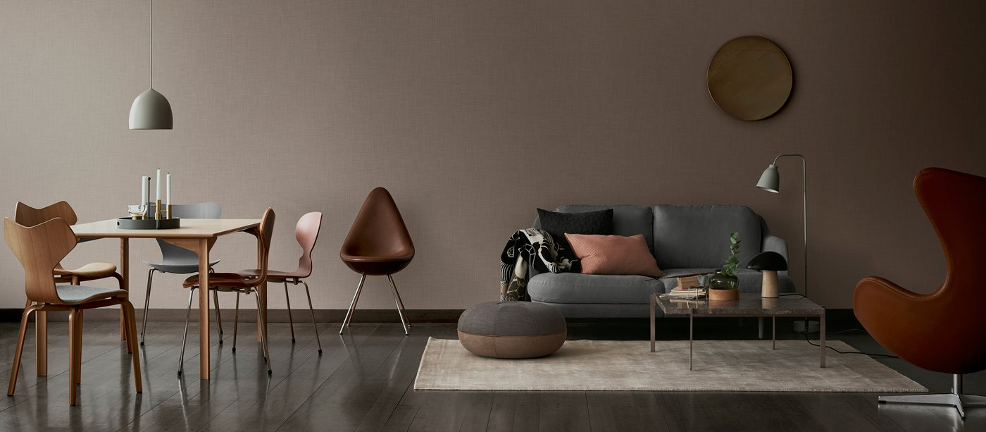 Interior Design Stores in Copenhagen article. Image of sofas and chairs from Illums Bolighus