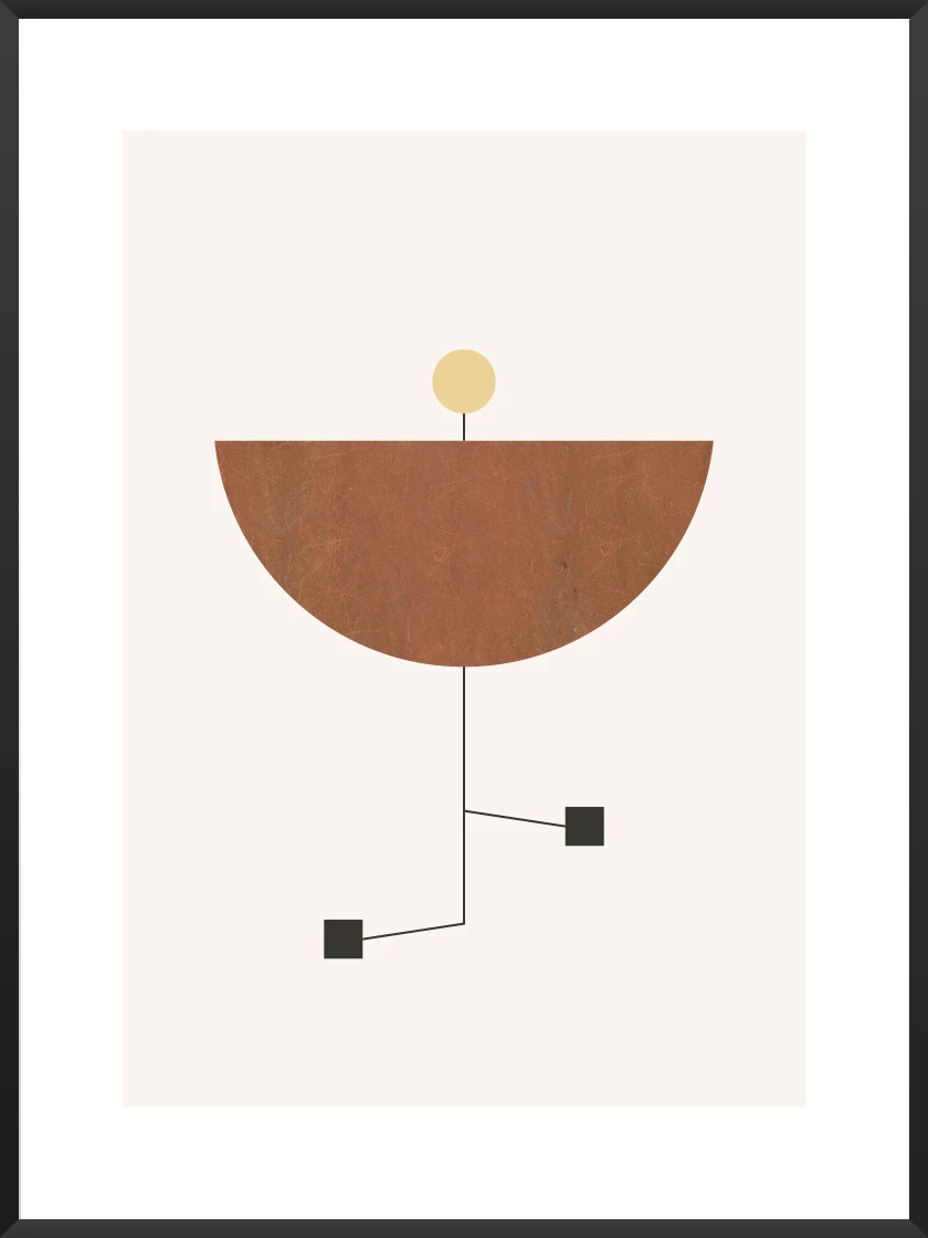 Rented apartment feel like home article. Image of Play poster by Project Nord