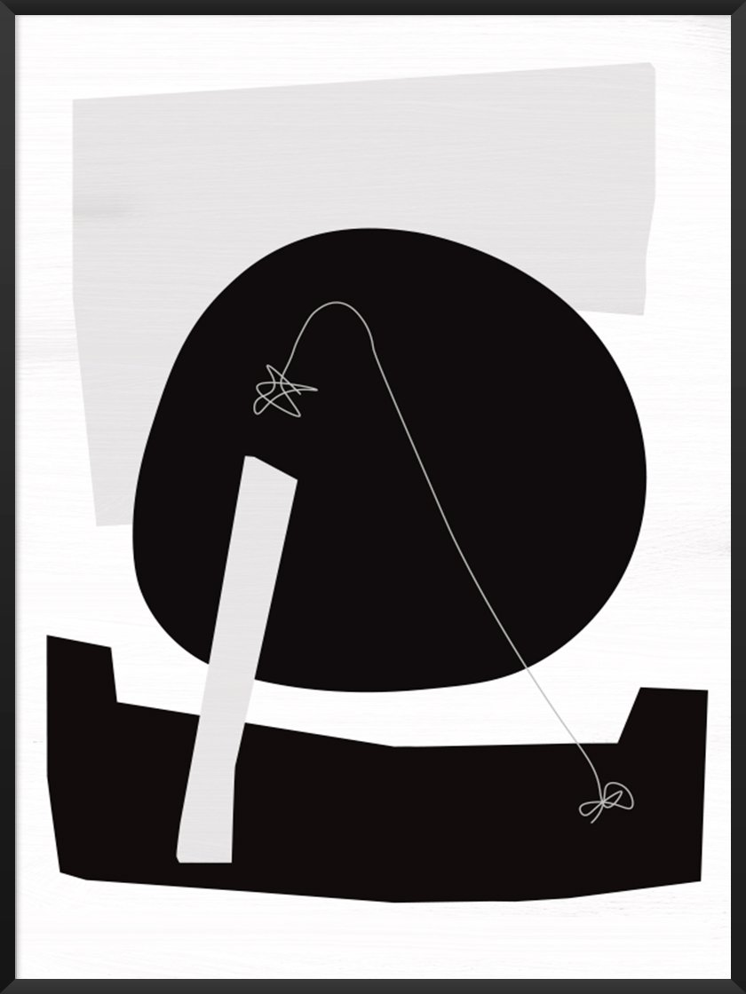 Rented apartment feel like home article. Image of  Shadow of the Moon poster by Project Nord