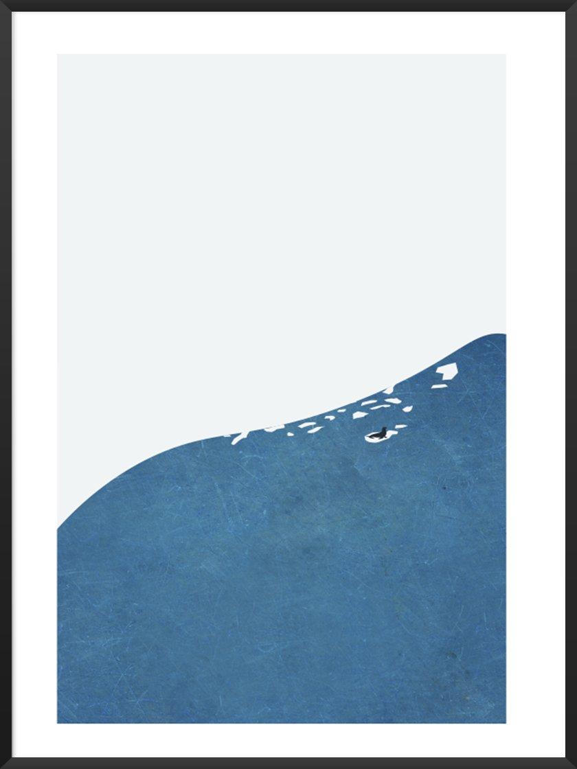 Kid's Room -      Minimalist Seal Poster     .
