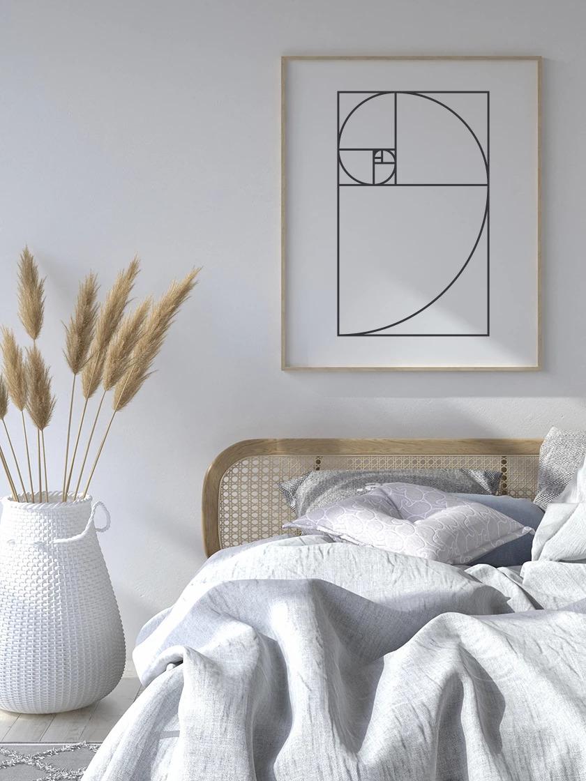 The minimalist      Golden Ratio Poster     !