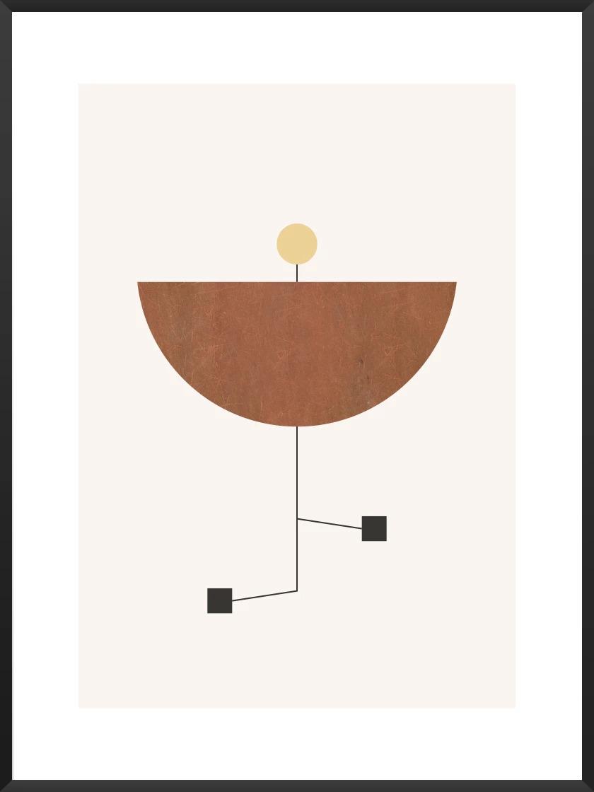 Premium Scandinavian Art article. Image of Play poster