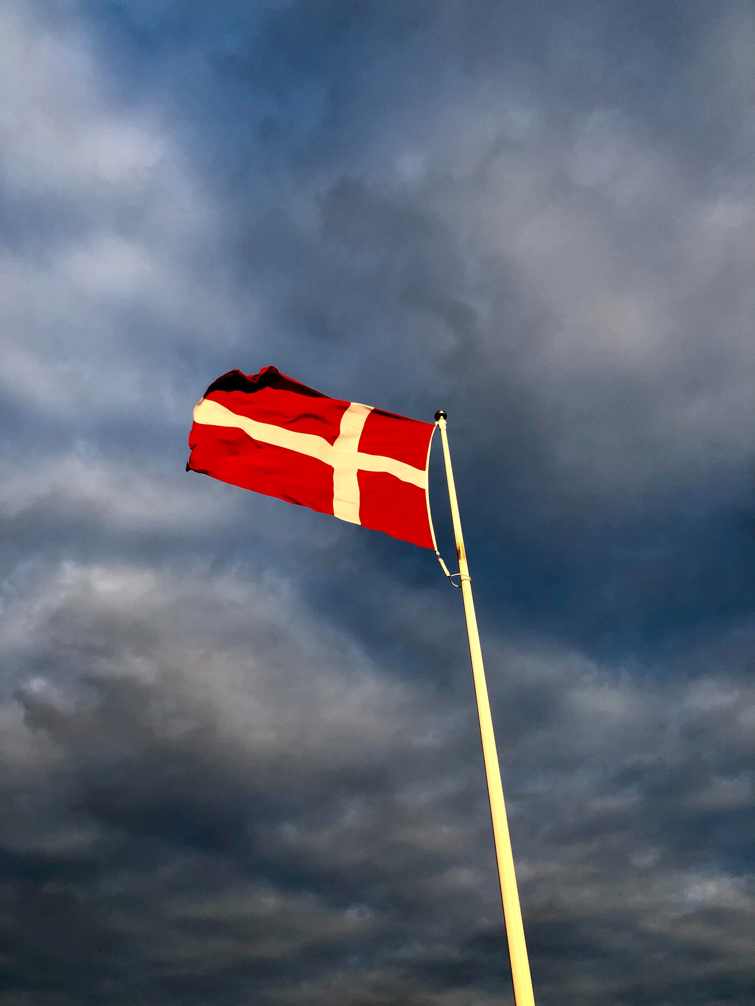 10 Facts About Denmark article. Image of Danish flag.jpg