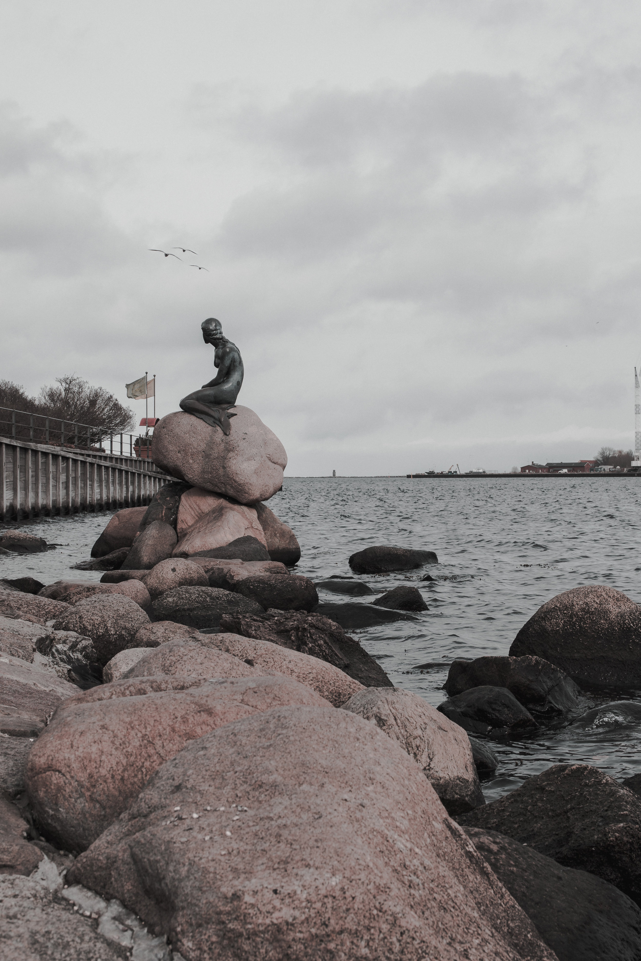 10 Facts About Denmark article. Image of the Little Mermaid statue.jpg