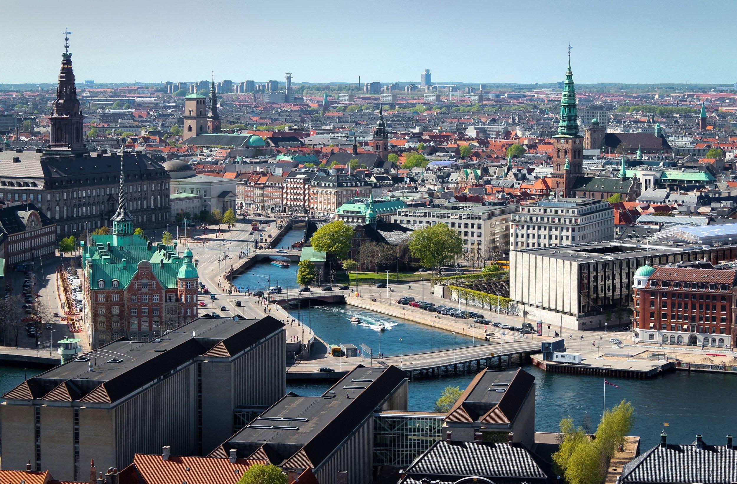 Image of Copenhagen, Denmark.