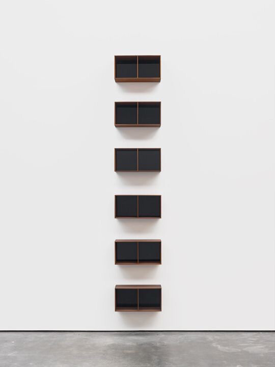 Donald Judd,  Untitled  (1990)