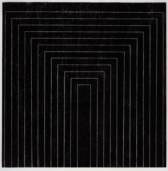 The Minimalist Art Movement article. Image of Frank Stella, Black Paintings.jpg