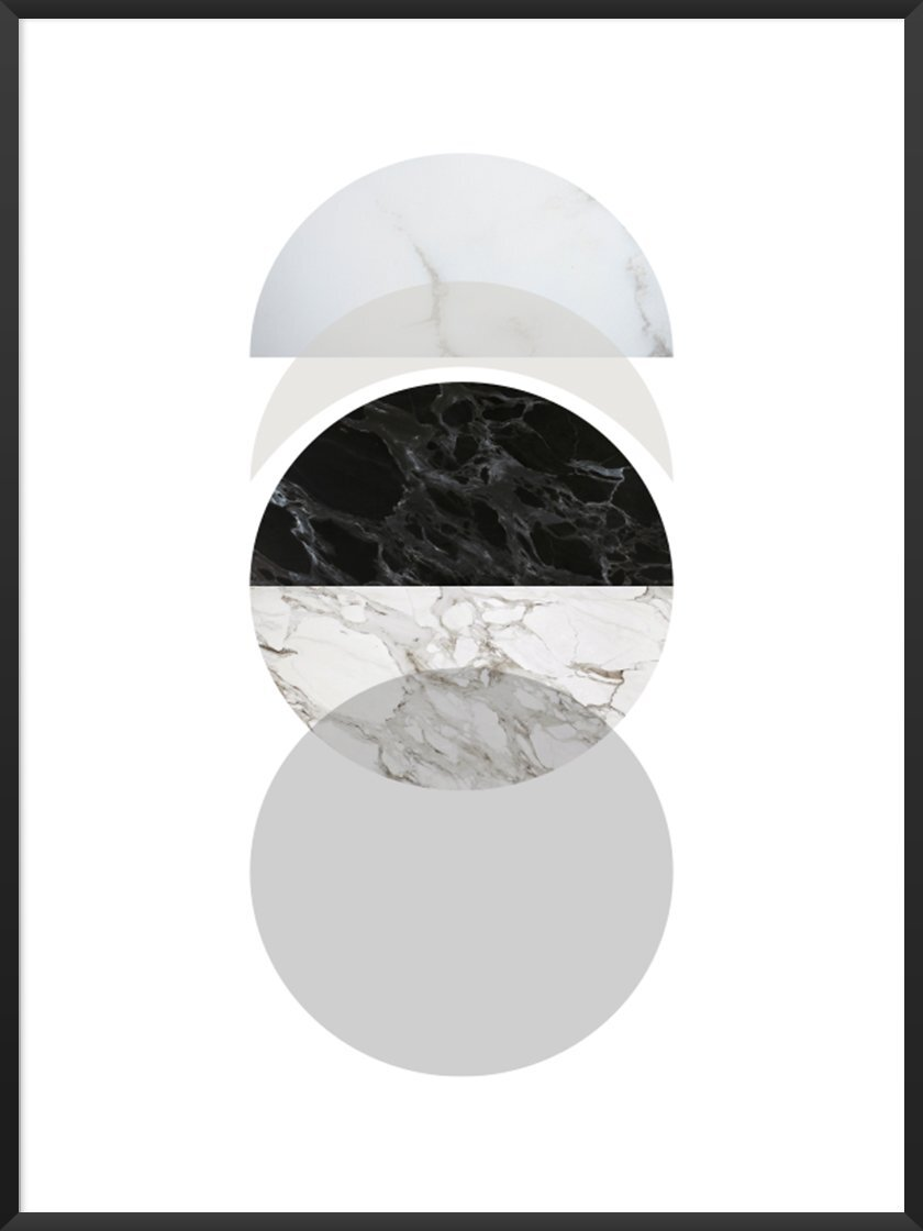 Minimalist Art Movement article. Image of Phases of the Moon poster