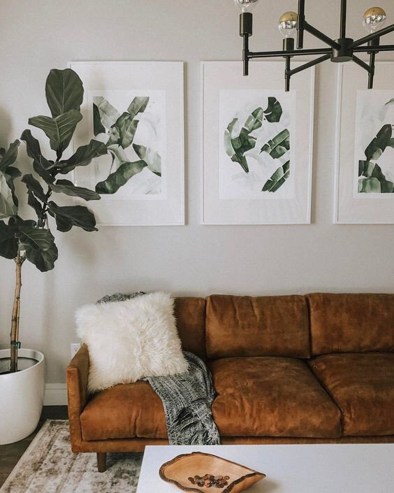 Hygge Home article. Image of leather sofa in a living room.jpg