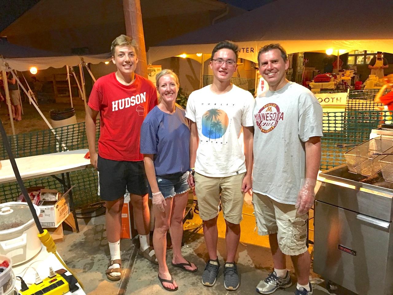 HHS Tennis Work Crew at Pepper Fest.JPG