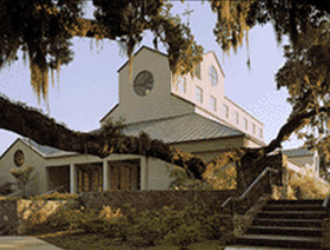 Mepkin Abby - Located on the banks of the Cooper River, this Catholic monastery offers peace and beauty to those who visit it. Established in 1949, the monastery is open to the public.
