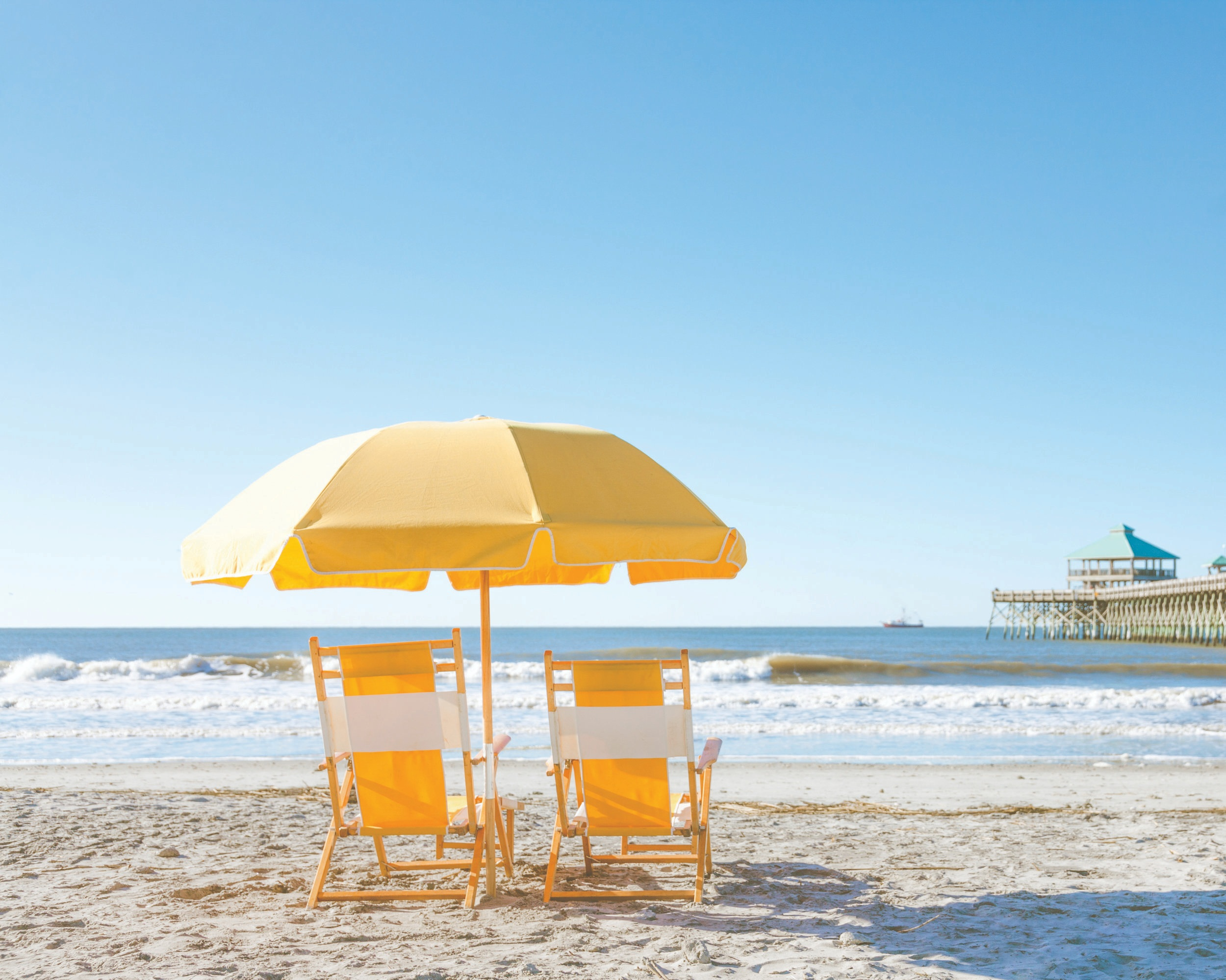 Folly Beach - Located just 15 minutes from downtown Charleston, this beautiful barrier island is a great day trip. There are beach and surfing opportunities galore, and the island itslef is home to a maritime forest and the Morris Island Lighthouse.
