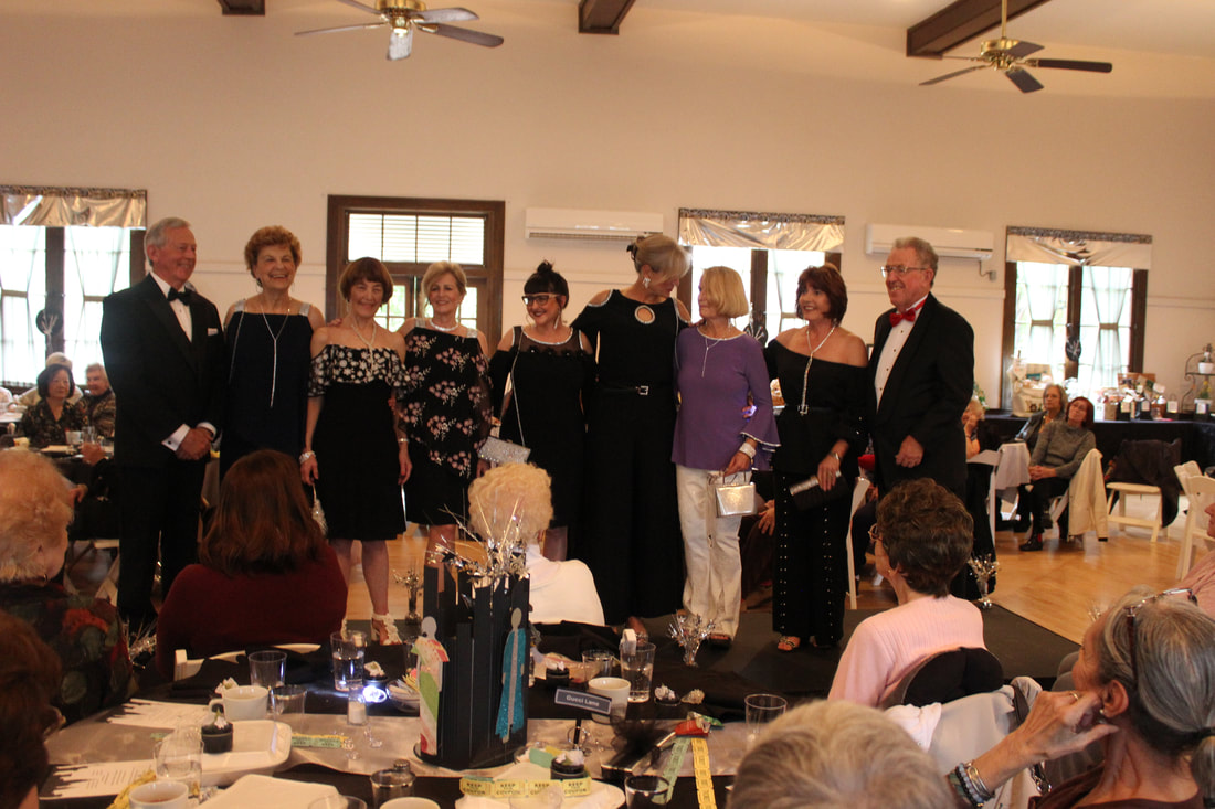 Woman's Club of Orange fashion show held at Woman's Club Event Center