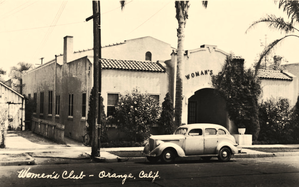 The Woman's Club of Orange Clubhouse, Old Towne Orange, Circa 1924