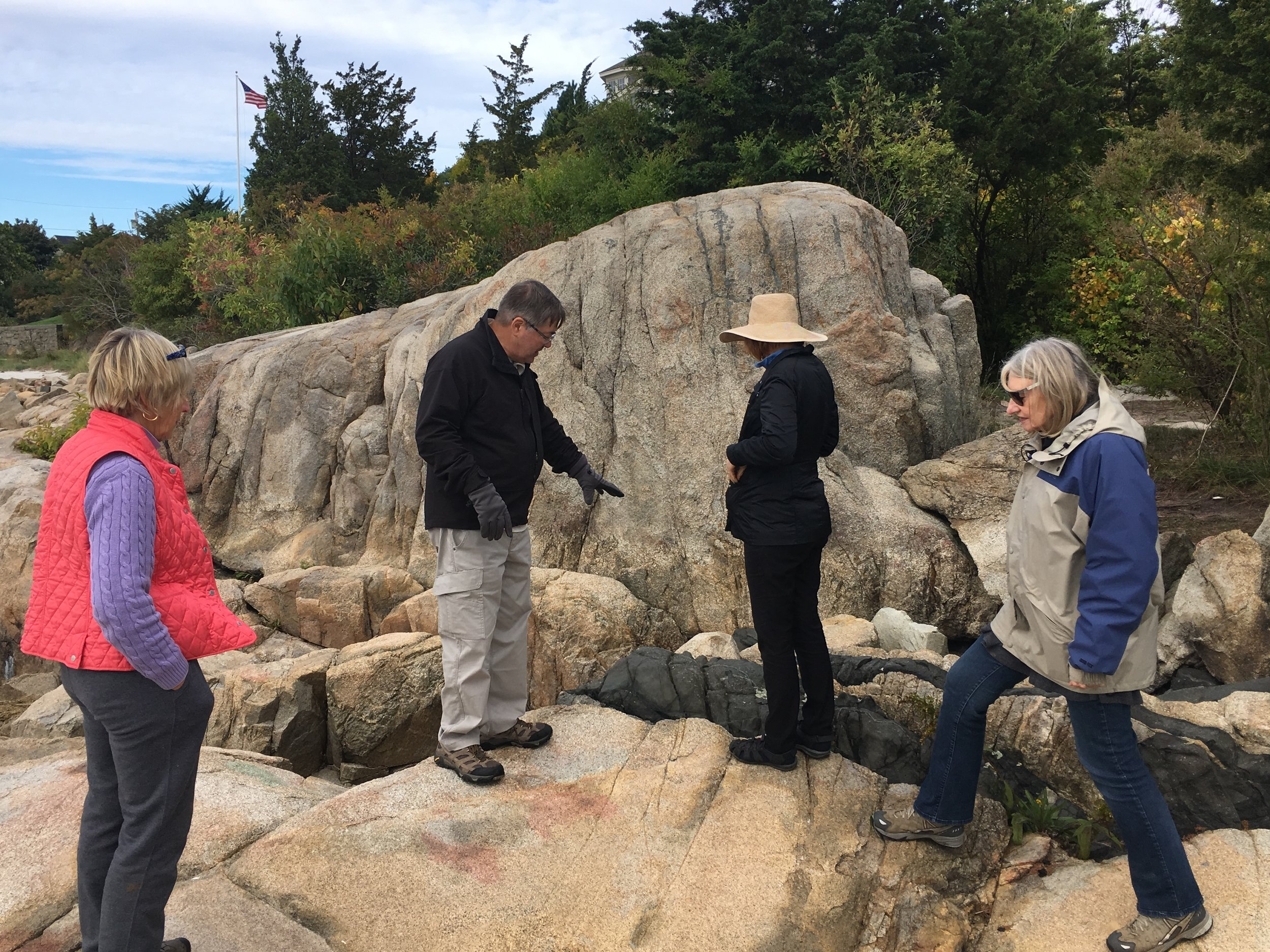 Special Interest Geology Walk Group