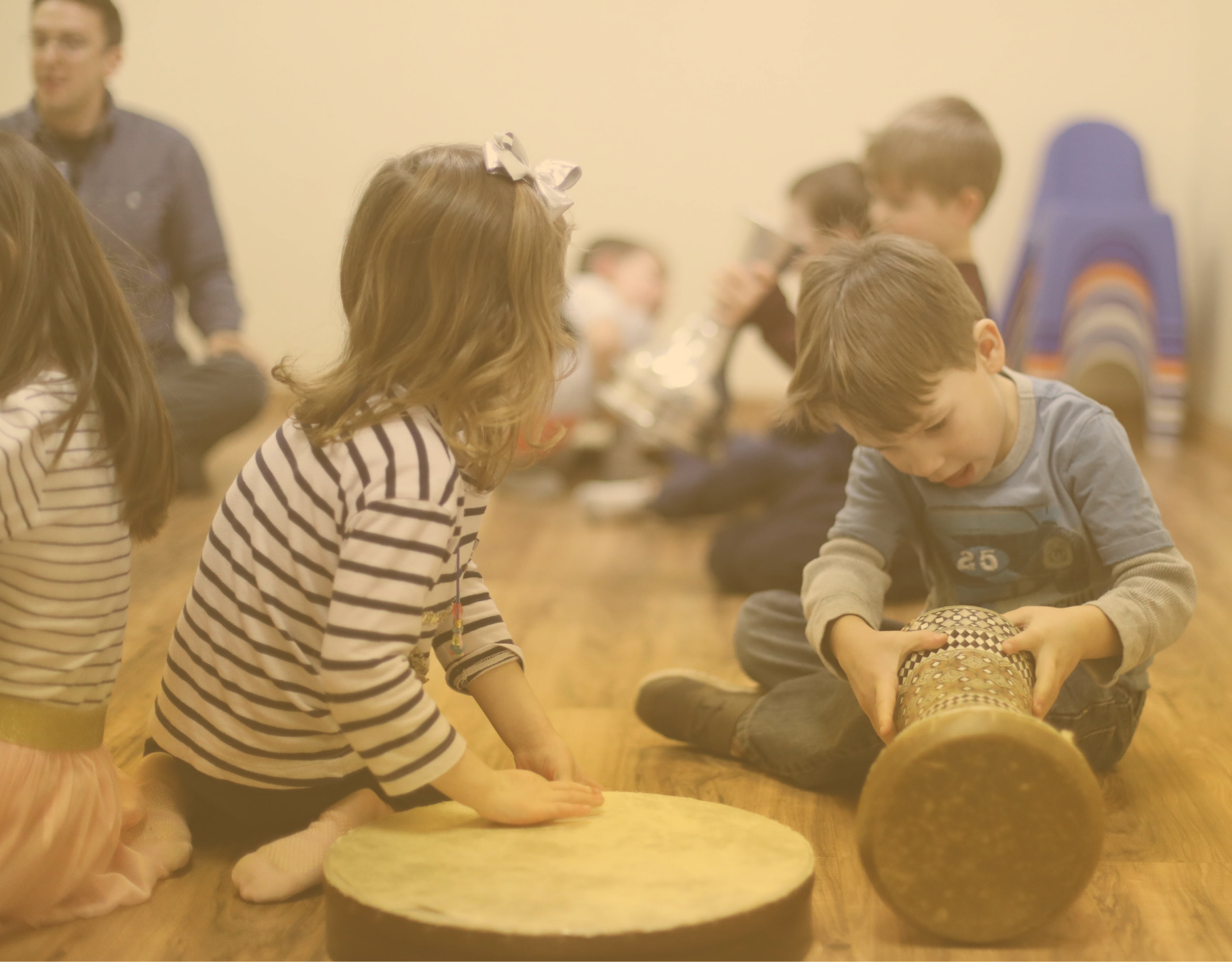 """Whenever the children at my center hear that Jammin With You is coming for our bi-weekly class, they explode with excitement! The energy that is brought to each class is unmatchable. The children learn so much and it is all through song and dance. What more could you ask for!"" - Afi Afshar, Director, Arlington Infant Toddler Center"