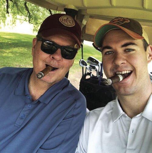 """Scott """"Sodie"""" Sodergren, and his son, Sodie's President, Luke Sodergren"""