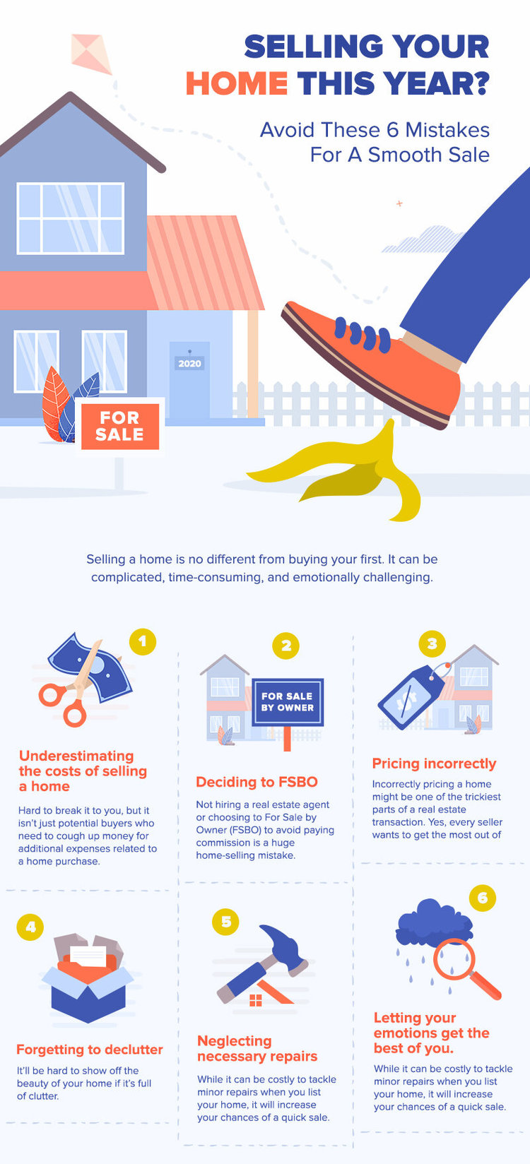 Selling Your Home This Year? Avoid These 6 Mistakes For A Smooth Sale
