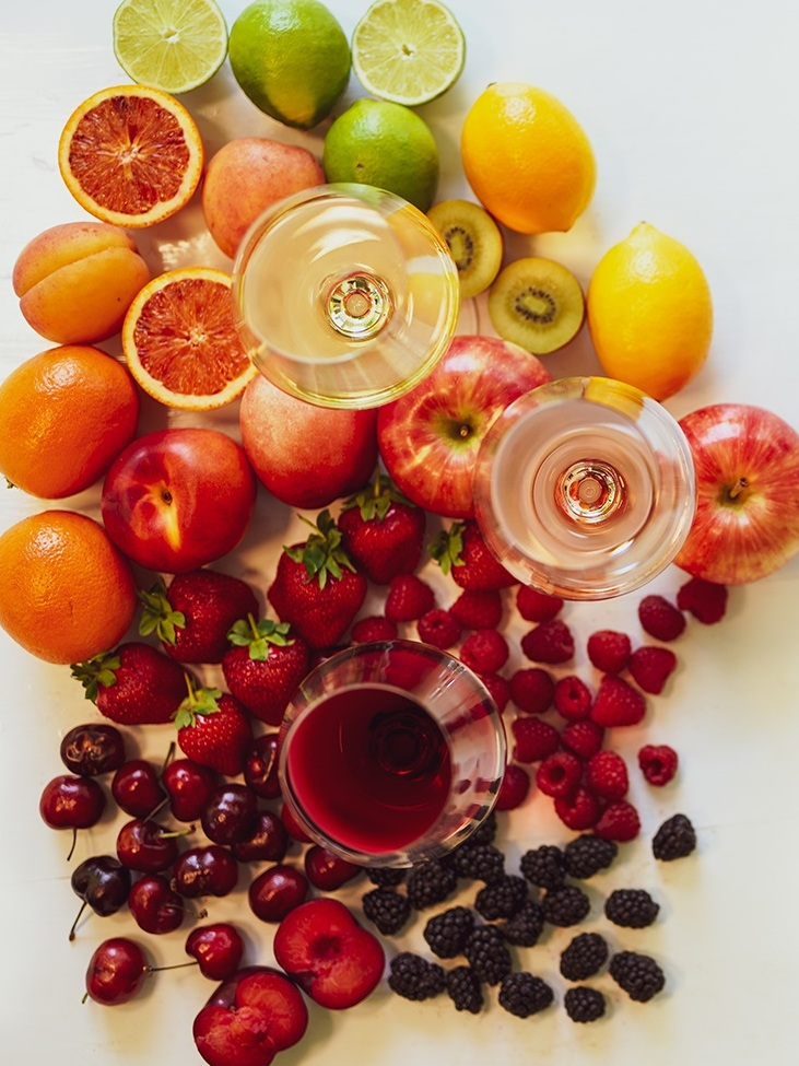 Vincurian Wine and Fruit