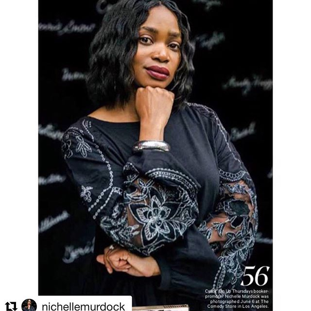 #Repost @nichellemurdock with @get_repost  #flashbackfriday 🤩🤩🤩 ・・・ The Hollywood Reporter's 'Comedy Issue' came out TODAY...And I'm in it!! I'm very proud & honored to be featured in this article along with some of my fellow friends in comedy. You can find me in the #tableofcontents & on Page 56✌️ @seth_abramovitch-thank you for listening & sharing our stories!  And a very special thank you goes out to @samsoncrouppen! You saw a need for change and you put yourself out there. You committed and stayed the course! Appreciate your dedication and hard work. We see you Samson!! PICK UP  YOUR COPIES TODAY!! Link in BIO!!!🌟⭐️🌟⭐️🌟⭐️🌟⭐️ 📸Photo Credit: @glaskewii 😉🙌🏾 * * * * * #crackemupthursdays #thehollywoodreporter #producer #comedy #talentbooker #freepeople #nichellemurdock #hollywood #articles #blackcomedy #risingstars #dreams #hardworkpays #damnready #god #clarkatlanta #findawayormakeone