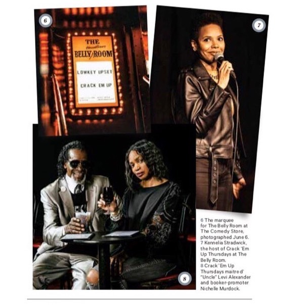 Check out more pics from our feature in the Hollywood Reporter!! 🤩🤩#flashbackfriday #hollywoodreporter #crackemup 🤪✌️📸 Photo credit: @glaskewii * * * * * #crackemupthursdays #thehollywoodreporter #comedyissue 6/19/2019 #producer #comedy #talentbooker #hollywood #risingstars #tvstars #tvwriters #love2laugh #freshandfunny #nichellemurdock #hollywood #articles #blackcomedy #poc #comedylovers #thursdays #dreamchasers #gratitude #thankful #clarkatlanta #myhbcu #findawayormakeone