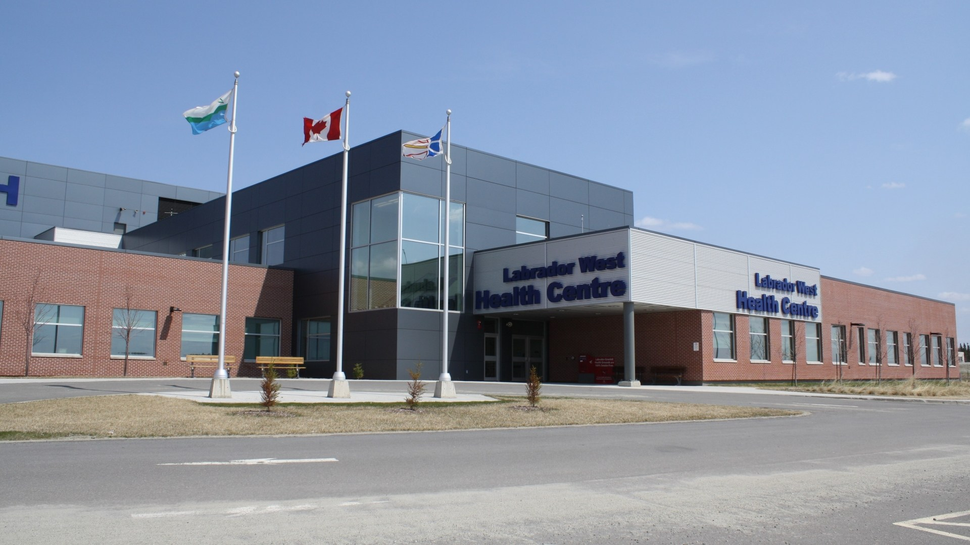 Labrador West's new state-of-the-art Health Centre.