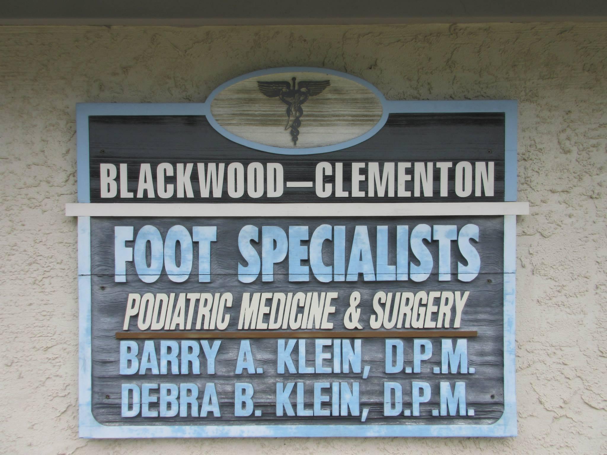 Blackwood Clemeton Foot Specialist - Podiatry Office