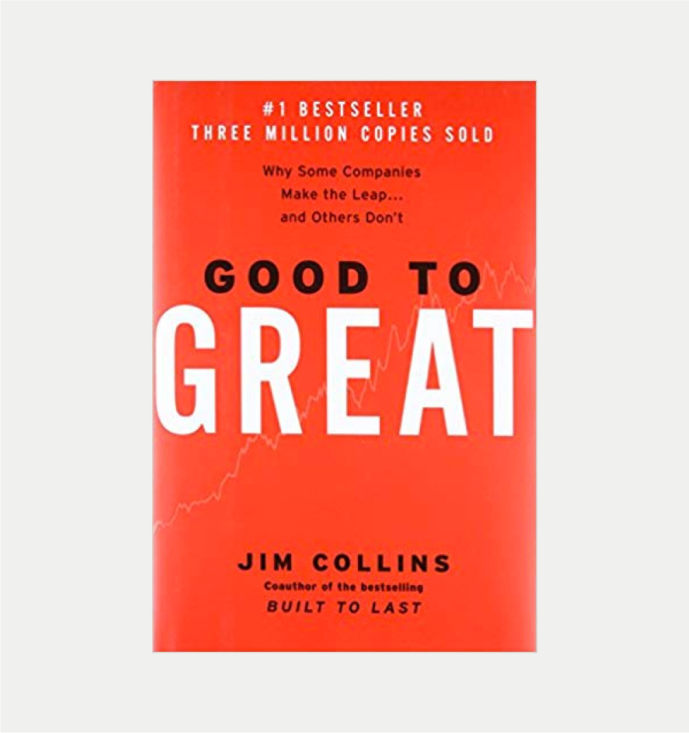 GOOD TO GREAT       Jim COLLINS     BUY