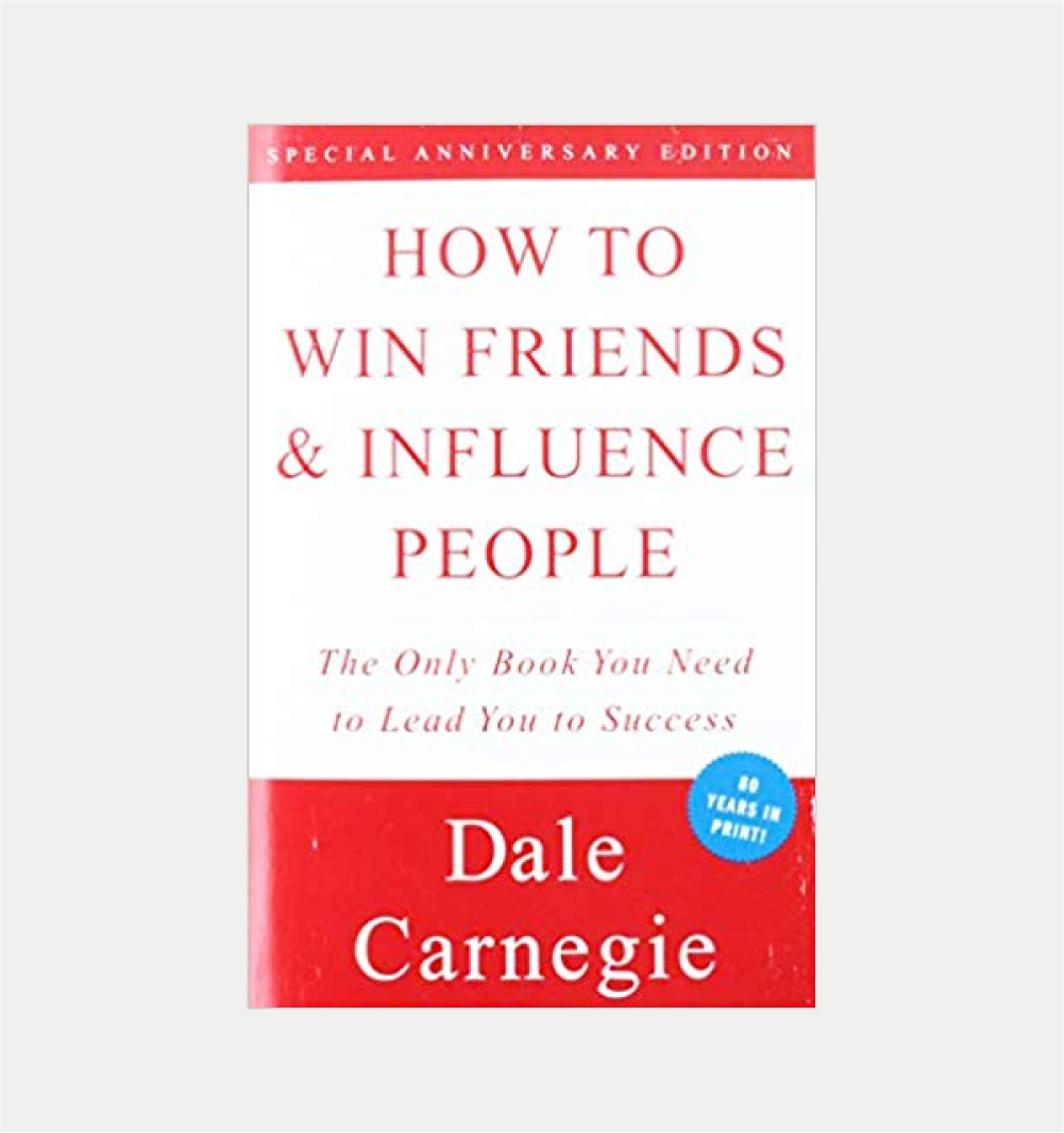 HOW TO WIN FRIENDS AND INFLUENCE PEOPLE      DALE CARNEGIE    BUY