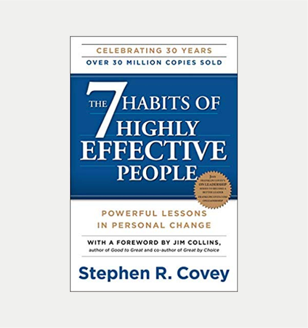 7 HABITS IN HIGHLY EFFECTIVE PEOPLE      STEVEN COVEY     BUY