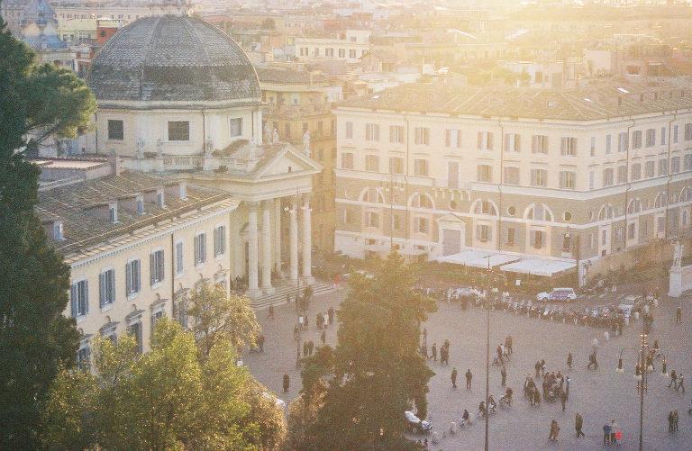 The Piazza del Popolo in Rome, Italy (Photo: Lauren Colunga)