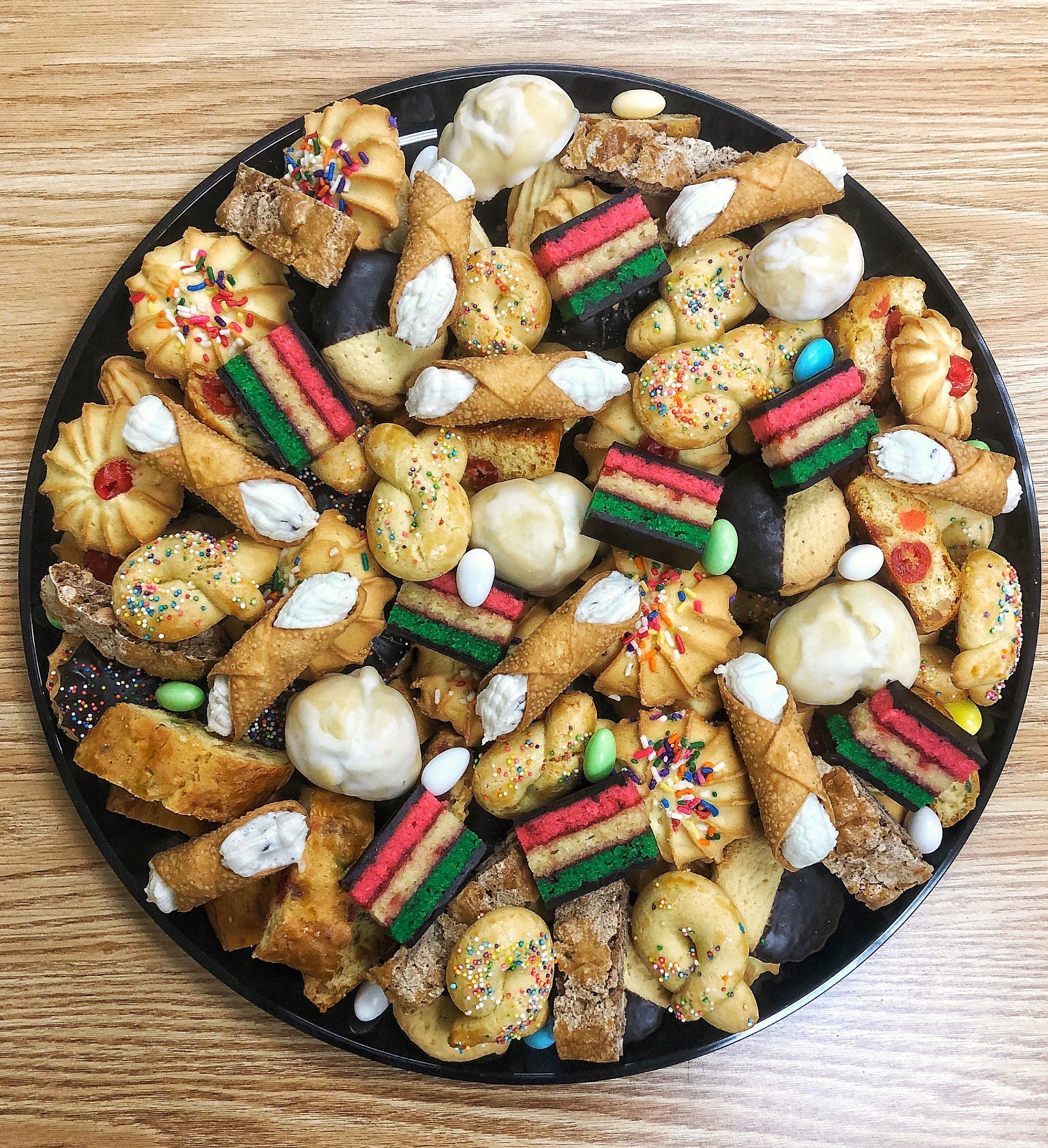 price ranges - - Cookies from New York City- Cannolis- Tiramisu- Carrot Cake- Red Velvet Cake- Black Forest Cake- Cheese Cake➜ Learn More