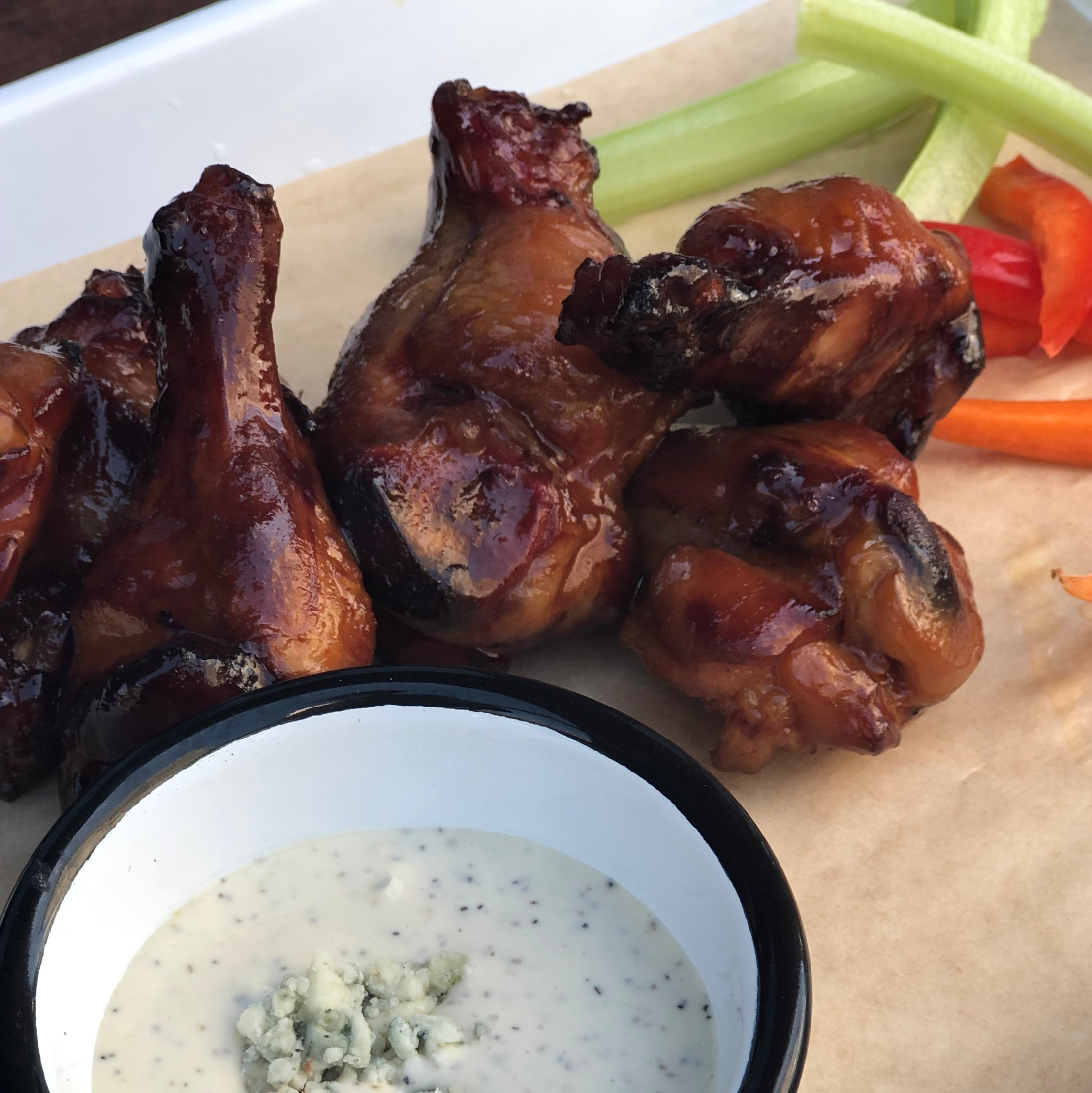 WINGS? YOU BET. - Salad + Pizza? We have that too. Our menu is hand picked to satisfy any craving.