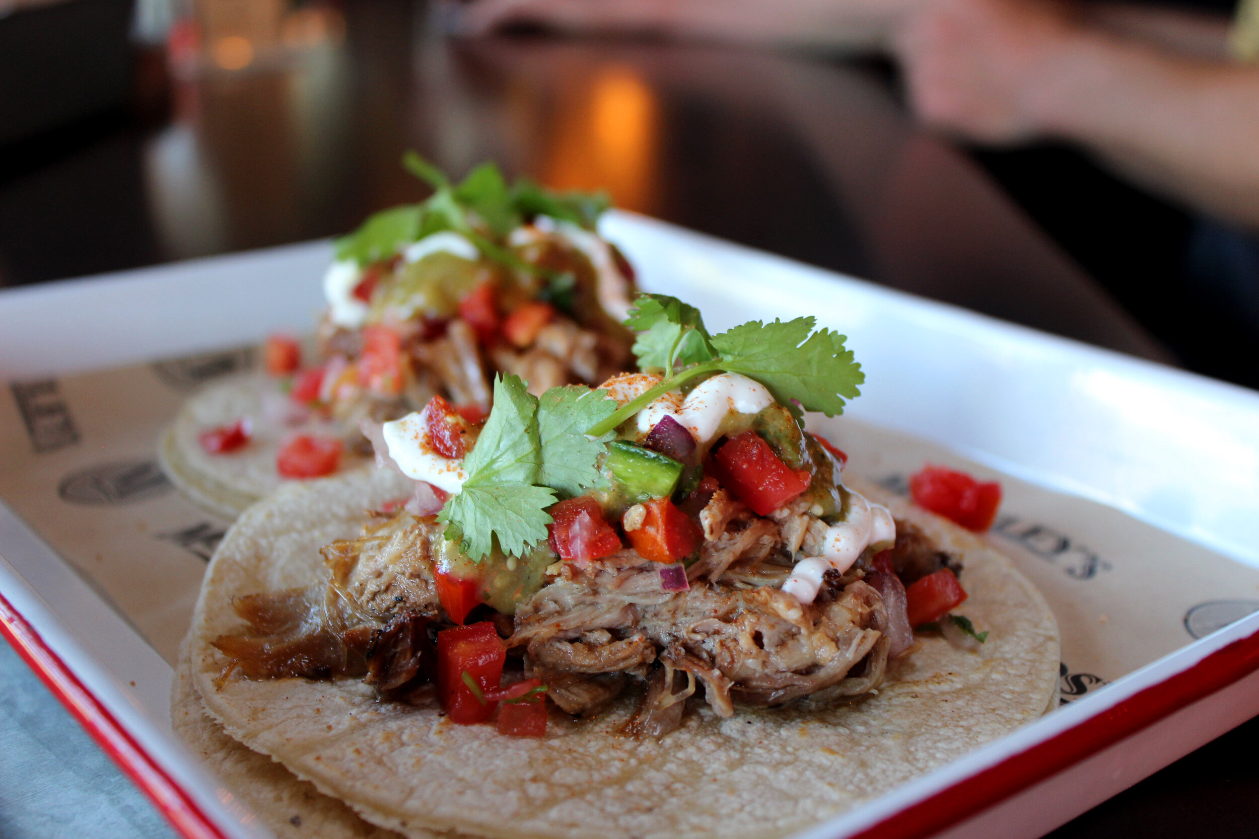 TACOS FOR THE WIN - Get em' at Happy Hour