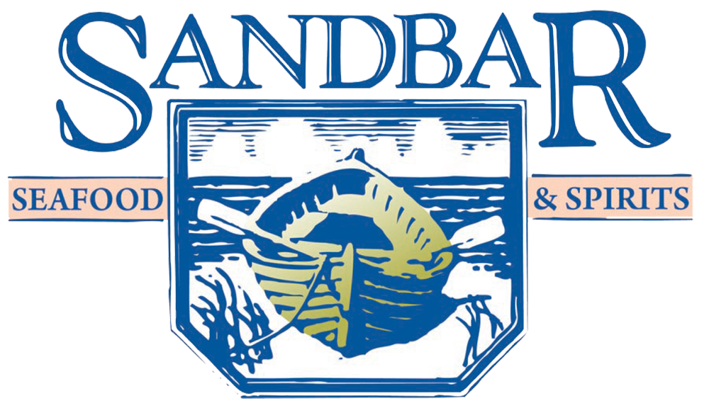 The Sandbar Seafood and Spirits logo