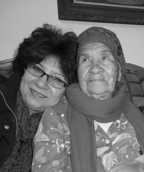 Iliana's aunt and Nana Elvira
