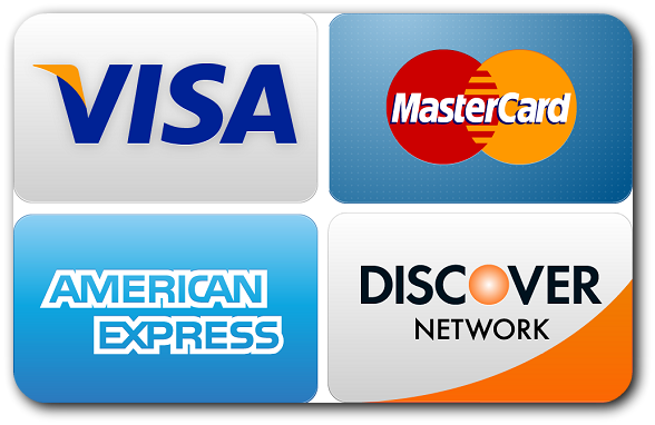 Major Payment Methods Accepted