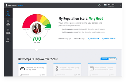 Reputation Management Software - BrandYourself helps nearly a million people clean up, protect and improve their online reputation in Google and social media.