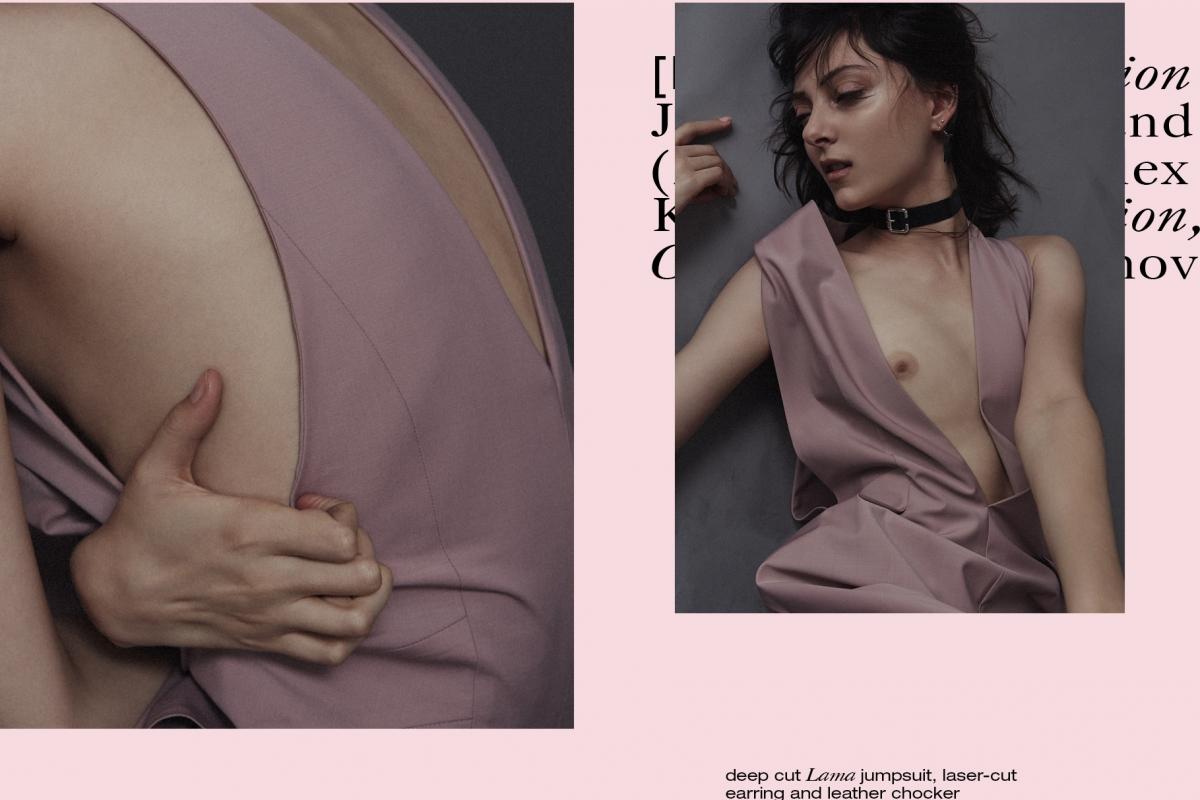 PHOTOGRAPHY DAN BELEIU CREATIVE DIRECTOR OLGA YANUL MODEL SARAH ENGELLAND HAIR KEIICHIRO HIRANO MAKE-UP EMMA MILES