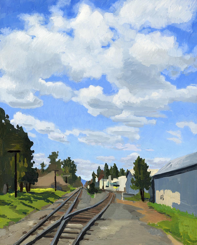 Railroad Tracks, Phoenix, OR