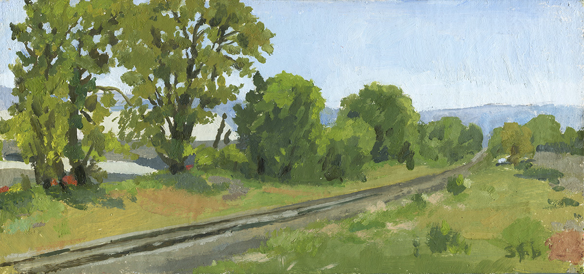 Late Spring, Mistletoe Road, Ashland, OR