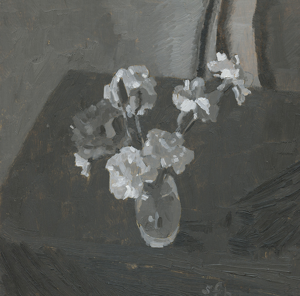 Grisaille Carnations