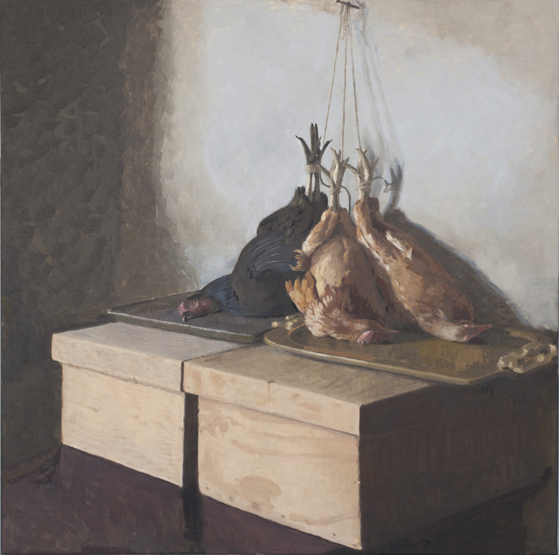 Still Life with Chickens