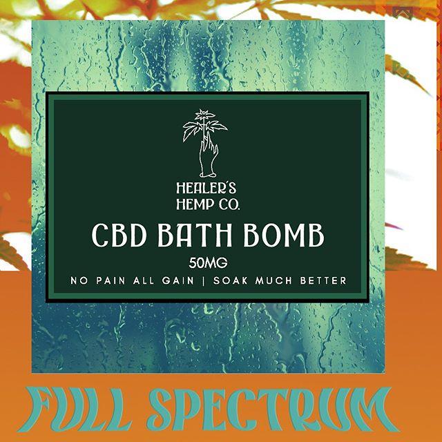 Make yourself a priority. . CBD Bath Bombs w/ essential oils