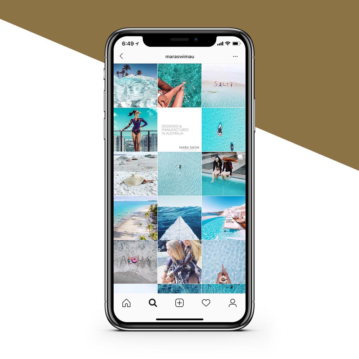 MARA swim Instagram - Studio Bert - Website Designer, Melbourne.jpg