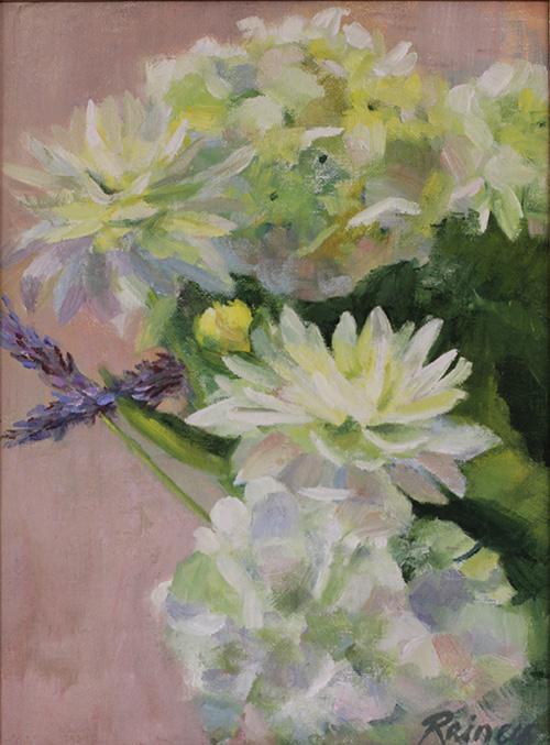 Hydrangea and Daliah Study