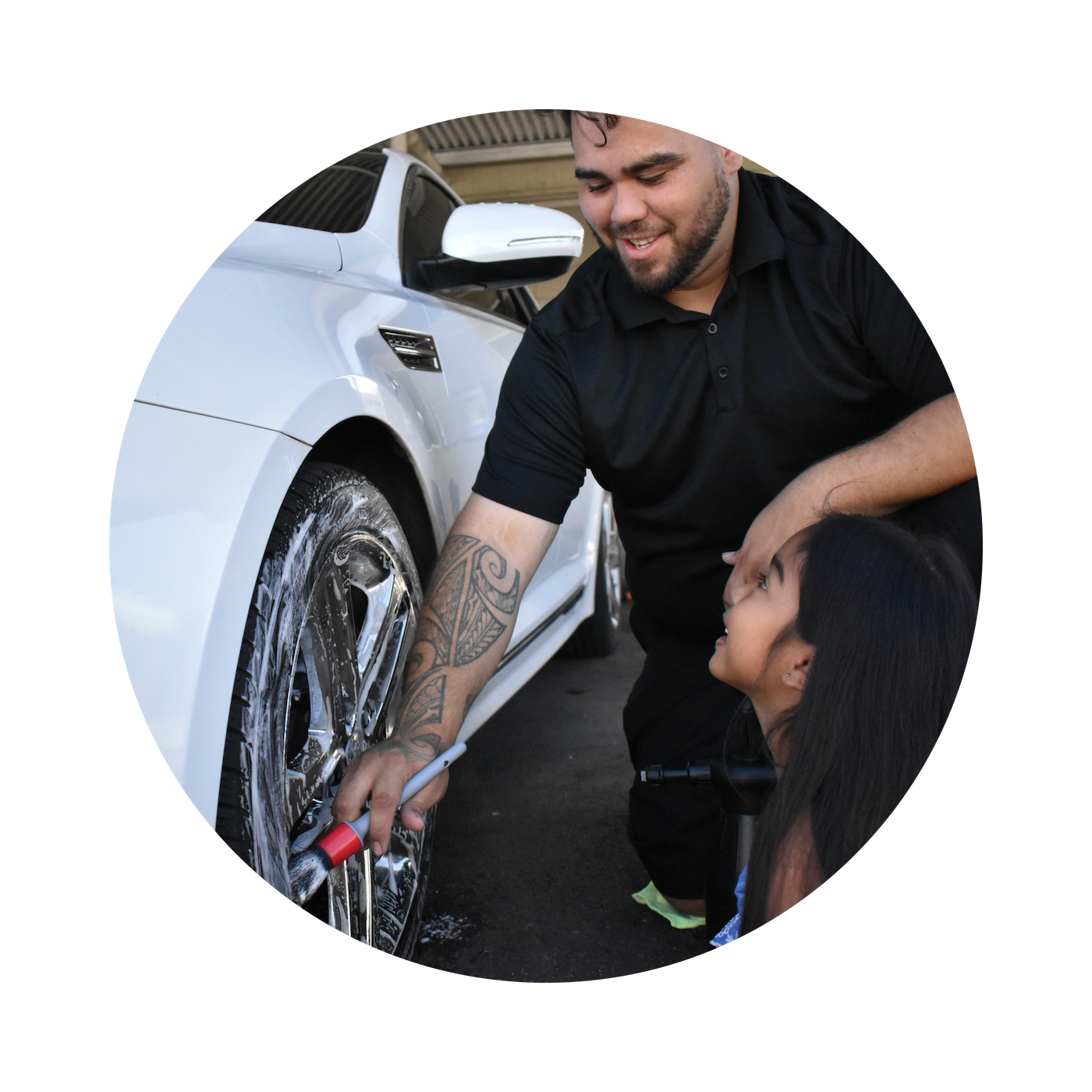 """Ian Garcia, Car Detailer - """"With Brandi's guidance, I've learned how to improve my finances, clear negative energies/blockages, find proper nutrition that works, how to serve others that aligns with my values in life, and many tools to help me evolve into my highest self! My experience with Brandi has been a great awakening and reassessment to what actions I take in my life. Brandi has helped me to expand on the best parts of me, and I want to spread that contagious encouragement with others!"""""""